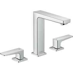 Click here to see Hansgrohe 32519001 Hansgrohe 32519001 Metropol 160 Widespread Faucet with Lever Handles, Chrome