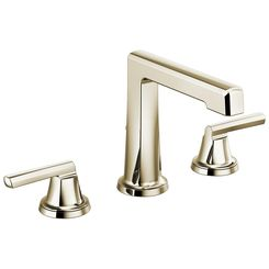 Click here to see Brizo 65398LF-PNLHP Brizo 65398LF-PNLHP Levoir Polished Nickel Lavatory Faucet - Less Handles