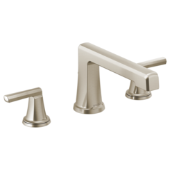 Click here to see Brizo T67398-NKLHP Brizo T67398-NKLHP Levoir Roman Tub Faucet - Luxe Nickel, Less Handles