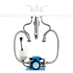 Click here to see Aquamotion AMH3K-R AquaMotion AMH3K-R Hot One Hot Water Recirculation System, Under Sink