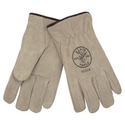 Click here to see Klein 40014 KLEIN 40014 SUEDE COWHIDE DRIVERS GLOVES LINED, L