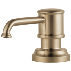 Click here to see Brizo RP75675GL Brizo RP75675GL Luxe Gold Soap / Lotion Dispenser