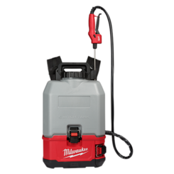 Click here to see Milwaukee 2820-21CS Milwaukee2820-21CS M18 SWITCH TANK 4 Gallon Backpack Concrete Sprayer Kit