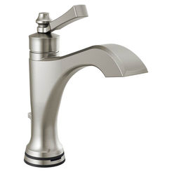 Click here to see Delta 556T-SS-DST Delta 556T-SS-DST Dorval One-Handle Lavatory Faucet, Brilliance Stainless