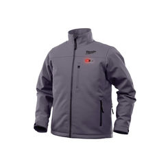 Click here to see Milwaukee 202G-20S Milwaukee 202G-20S Toughshell M12 Men's Heated Jacket, Gray, Small