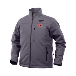 Click here to see Milwaukee 202G-203X Milwaukee 202G-203X Toughshell M12 Men's Heated Jacket, Gray, 3XL