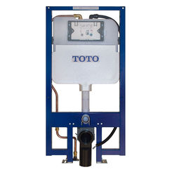 Click here to see Toto WT173M TOTO DUOFIT In-Wall Dual Flush 1.28 and 0.8 GPF Tank System, Copper Supply Line - WT173M