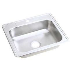 Click here to see Elkay D125221 Elkay D125221 Dayton Stainless Steel Single Bowl Drop-in Sink, Satin