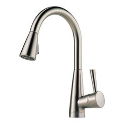 Click here to see Brizo 63070LF-SS Brizo 63070LF-SS Venuto Stainless Steel Kitchen Pulldown Faucet