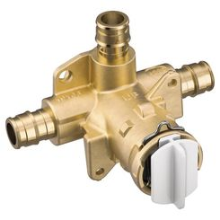 Click here to see Moen FP62327PF Moen FP62327PF Posi-Temp Tub/Shower Rough-In Valve - 3 Port Cold Expansion PEX