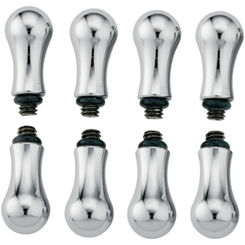 Click here to see Moen 14715 Moen 14715 Traditional Replacement Handle Knob Insert,  Chrome