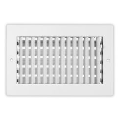 Click here to see Shoemaker 951-14X6 14X6 White Vent Cover (Steel) - Shoemaker 951 Series