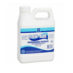 Click here to see JC Whitlam FLOW-32 Whitlam FLOW32 Clear Amber Flow-Aide Liquid System Descaler, 1 Quart