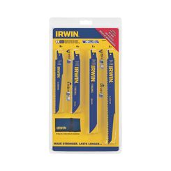 Click here to see Irwin 4935496 Irwin 4935496 Bi-Metal Reciprocating Saw Blade Set, 11 Pieces
