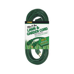 Click here to see Prime Wire EC880625 Prime EC880625 Extension Cord, 25 ft L, 16/3 AWG