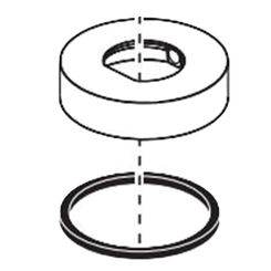 Click here to see Brizo RP90075NK Brizo RP90075NK Luxe Nickel Spout Base & Gasket
