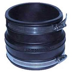 Click here to see Fernco 1060-44 Fernco 1060 Flexible Pipe Coupling, 4 in x 3.97 in, Plastic Socket, 4.3 psi, PVC