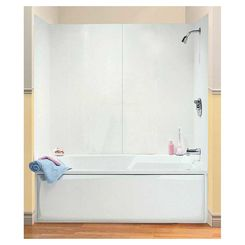 Click here to see Maax 101588-000-129 Maax 101588-000-129 4-Piece Bathtub Wall Kit, 48 - 60 in L X 30 in W X 54 in H, Polystyrene