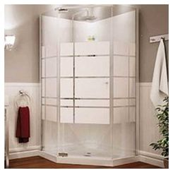 Click here to see Maax 105618-000-129 Maax Begonia Soho 105618-000-129 Shower Stall Kit, 36 in L X 36 in W X 72 in H, Polystyrene