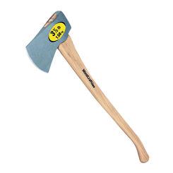 Click here to see Mintcraft 32916 MintCraft 32916 Camper Axe With Handle, 3.5 lb, 36 in OAL, Hickory Wood Handle