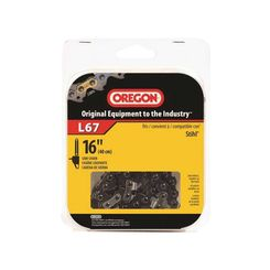 Click here to see Oregon L67 Oregon L67 Chain Saw Chain, 3/8 in X 16 in