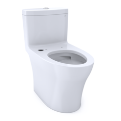 Click here to see Toto CST646CUMFGT40#01 TOTO Aquia IV One-Piece Elongated Dual Flush 1.0 and 0.8 GPF Toilet with CEFIONTECT, WASHLET+ Ready, Cotton White - CST646CUMFGT40#01