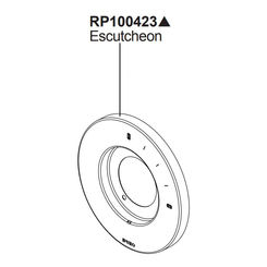 Click here to see Brizo RP100423PN Brizo Rp100423PN Levoir Pressure Balance Valve Trim Escutcheon - Polished Nickel