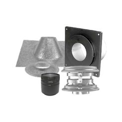 Click here to see M&G DuraVent 4PVP-KVA M&G DuraVent PelletVent Pro Vertical Kit Flat Ceiling - 4PVP-KVA