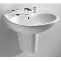 Click here to see Toto LHT242.8G#03 Toto LHT242.8G Bone Prominence Wall Mount Lavatory 8