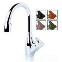 Click here to see Symmons S-2620-STN-L Symmons S-2620-L Satin Nickel Moscato Series Single Handle Kitchen Faucet