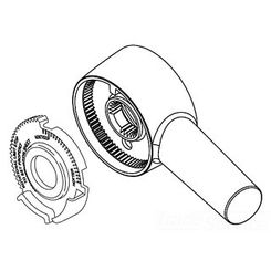 Click here to see Delta RP73377 Delta RP73377 Trinsic Handle Assembly - Chrome