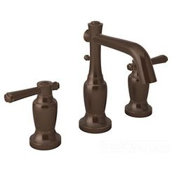 Click here to see Symmons SLW-5412-ORB Symmons Slw-5412-ORB Degas Oil Rubbed Bronze two Handle Widespread Lavatory Faucet