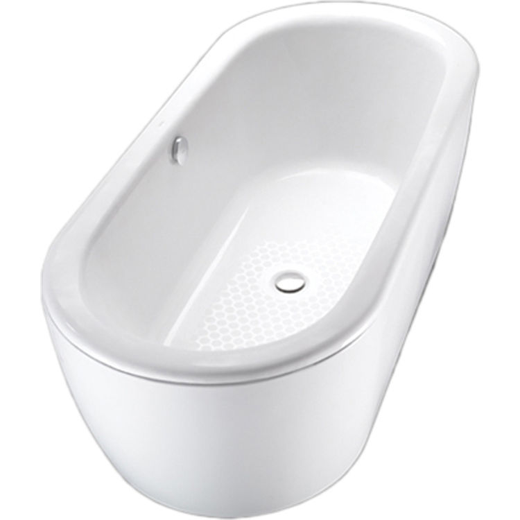 Toto FBF794S#01DBN Cotton White Free-standing Nexus Cast Iron Bathtub