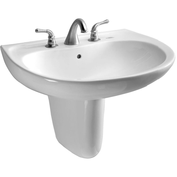 Toto LHT241.8G#01 Toto LHT241.8G#01 Supreme 23 x 20 Cotton White Lavatory Sink and Shroud