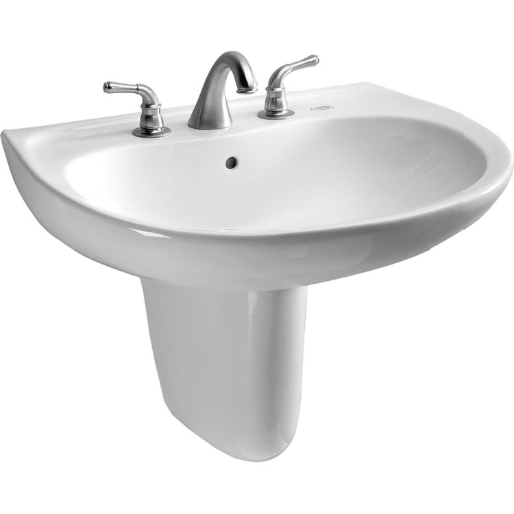 Toto LHT242.4G#01 Toto LHT242.4G#01 Prominence 26 x 22 Cotton White Lavatory Sink and Shroud