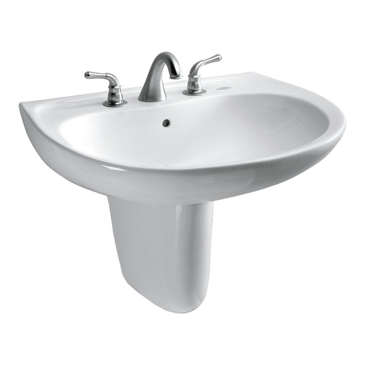 Toto LHT242G#01 Toto LHT242G#01 Prominence Wall-Mount Lavatory Sink, Cotton White