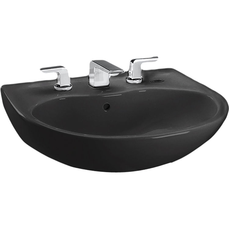Toto LT241.4#51 Supreme Single Hole Pedestal Sink Basin