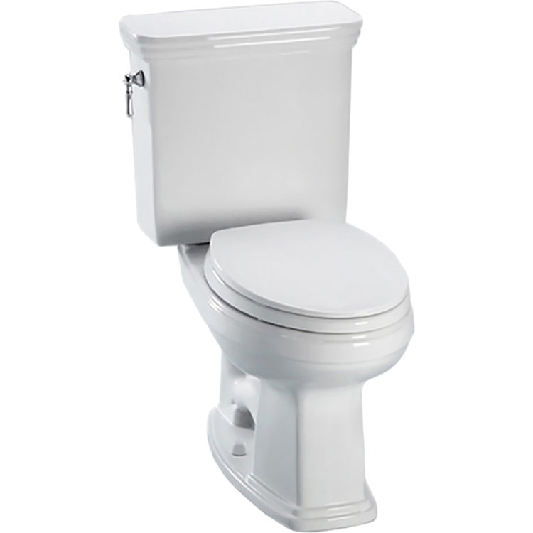 Toto CST424EF#01 Toto CST424EF#01 Two Piece Promenade Toilet with Elongated Bowl & Tank, Cotton