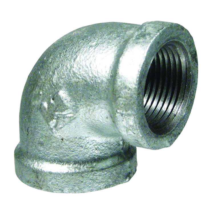 Commodity  GALL12 Galvanized 90 Degree Elbow, 1/2 Inch