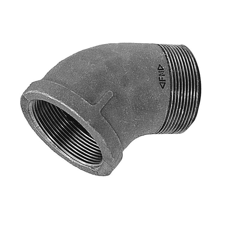 Commodity  GALLS45114 Galvanized 45 Degree Street Elbow, 1-1/4 Inch