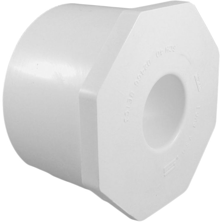Commodity  PVCB31 Schedule 40 PVC Bushing, 3 x 1 Inch