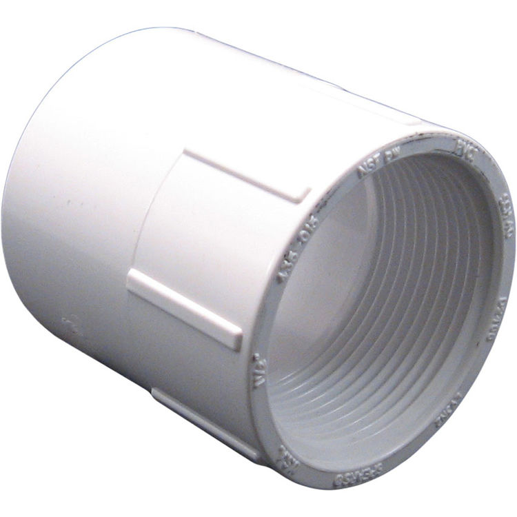 Commodity  PVCFE112 Schedule 40 PVC Female Adapter, 1-1/2 Inch