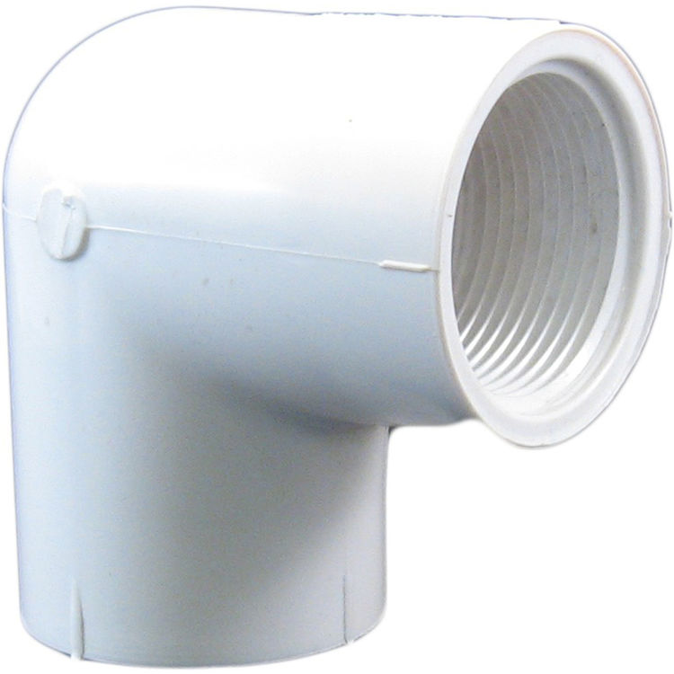 Commodity  Schedule 40 PVC 90 Degree 1-1/4 Inch Elbow