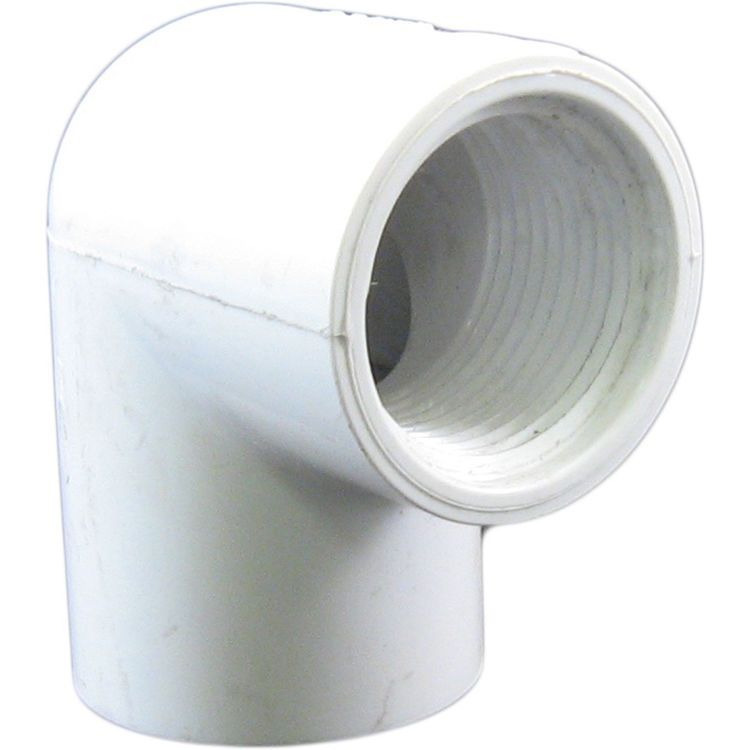 Commodity  1-Inch PVC 90-Degree Elbow - Slip x Threaded, Schedule 40