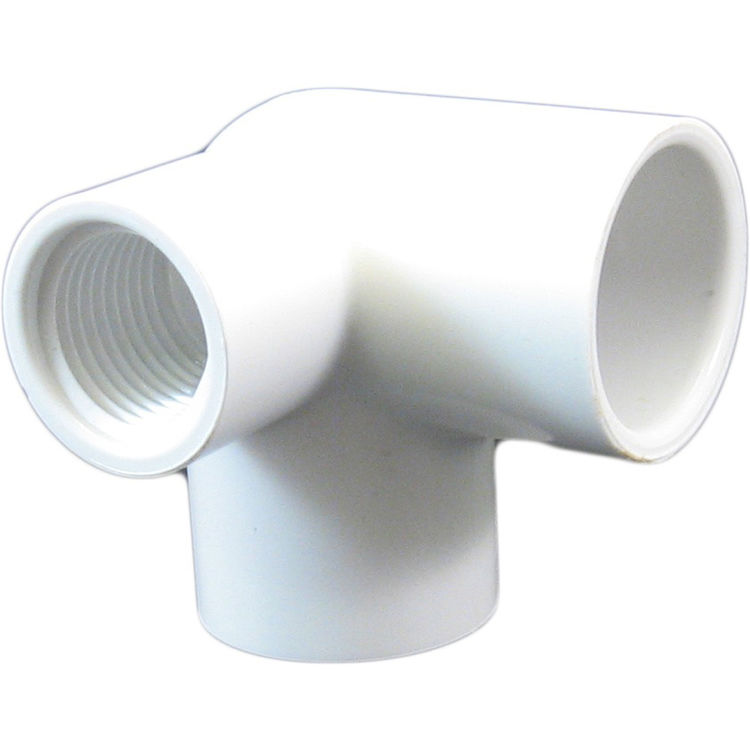 Commodity  3/4 x 3/4 x 1/2 Sideout Elbow 90 Degree Schedule 40 PVC