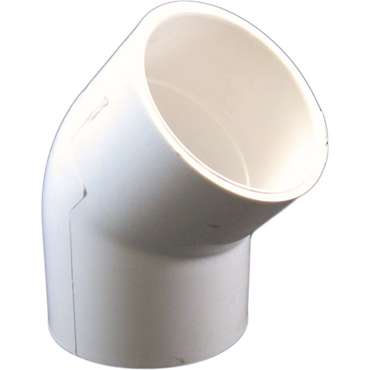Commodity  PVCL452 Schedule 40 PVC 45 Degree Elbow, 2 Inch