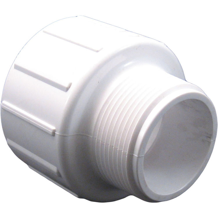 Commodity  Schedule 40 PVC 1-1/2 x 2 Inch Male Adapter