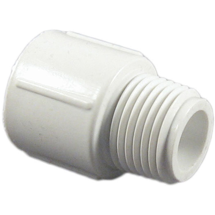 Commodity  Schedule 40 PVC 1/2 Inch Male Adapter