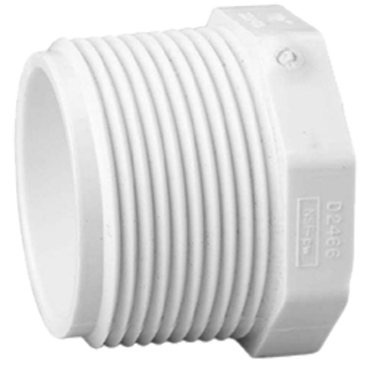 Commodity  Schedule 40 PVC 2 Inch Threaded Plug