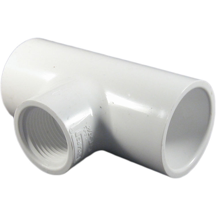 Commodity  Schedule 40 PVC 1x1x3/4 Inch Tee